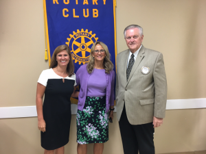 Dana Caudill Jones, Chair-WSFCS and Dr. Beverly Emory, Superintendent-WSFCS